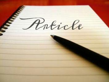 membuat artikel untuk blog