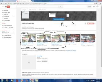 Membuat kan anda channel youtube + bonus 10 subscriber