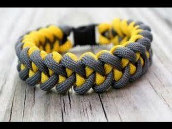 membuatkan anda gelang tali (survival bracelet) yg keren