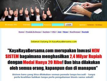 membuatkan 5 akun sekaligus di bisnis online yang aku kelola di KayaRayaBersama.com