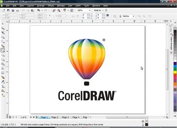 melakukan editor design grafis