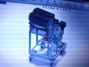 Aku akan mengerjakan gambar mesin 3D Solidwork