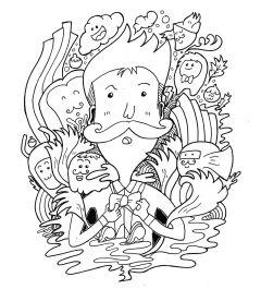 menggambar doodle art