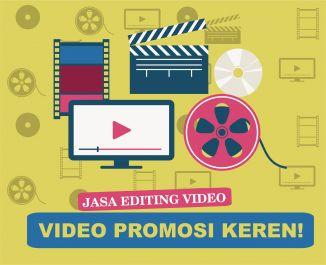 buatkan video promosi keren 1 menit