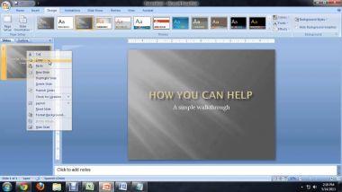 membuat file ms.powerpoint dari ms.word, 2 file