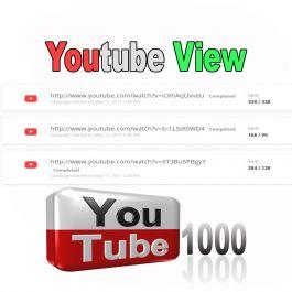 Mempromosikan video youtube Anda untuk 1000 view