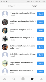 Mengirim 1000 likes dan 50 followers Instagram