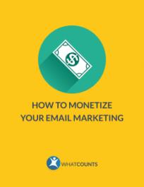 jual ebook cara monetize email menghasilkan Dollar