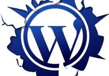 instal wordpress di hosting Anda