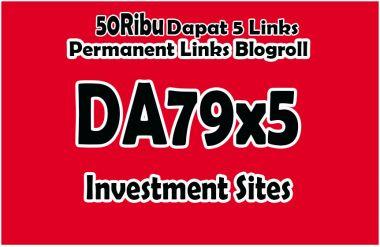 memberikan Domain DA79x5 Investment Situs Permanent Blogroll