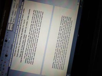 Menulis cerita dengan tema apapun selama masih positif, membantu tugas tulis menulis, tidak lebih dari 20 halaman