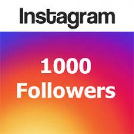 Jual Jasa Menambah 1000 Followers  Instagram