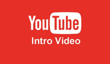 Membuat Intro  Video Youtube