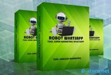 Jual Robot WA + Sniper Pro