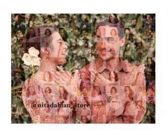 Membuat Mozaik Foto Untuk Kado Ulang Tahun maupun Pernikahan
