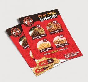 membuatkan desain poster dan leaflet