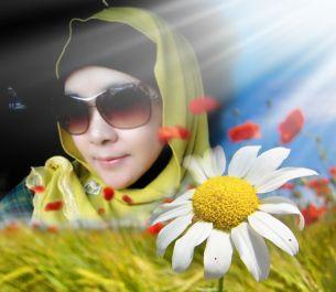 buatkan 1 Profile Picture (PP) keren dengan tema bunga untuk kamu gunakan sebagai PP kamu di medsos (WA, FB, Twitter, dsb).