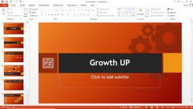 Membuatkan Power Pint Presentasi Pemasaran / Bisnis 5 Halaman