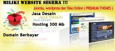 Buatkan website premium themes joomla,wordpress,toko online