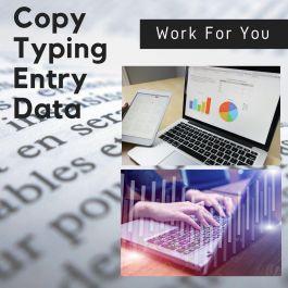 melakukan segala pengetikan word, olah data spreadsheet excel, PDF to Word, Image to Word