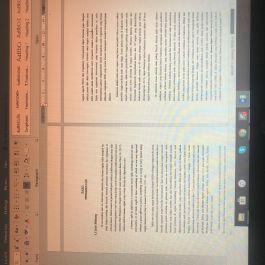 mengedit atau mengetik tugas kuliah (makalah, review jurnal atau buku, segala bentuk laporan, dan skripsi)