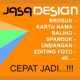 membuatkan design kartu nama, sticker, brosur, editing photo, semua tentang design... di jamin ciamik... sudah berpengalaman..