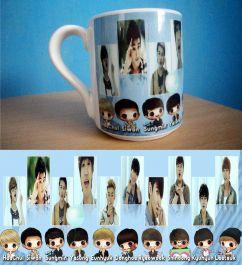 membuat mug Super Junior