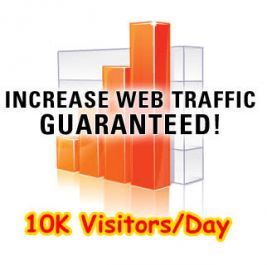 10,000 worldwide Visitors
