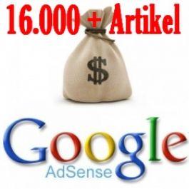 berikan16.000 artikel bahasa inggris untuk program adsence blog anda