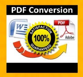 Convert File anda dari Microoft Word ke PDF (bonus Ebook Cover)