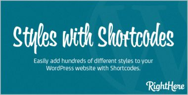 berikan Produk  WP Styles with Shortcodes