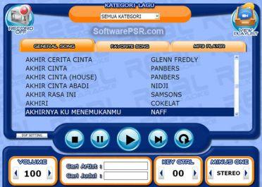 memberikan software karaoke full versions