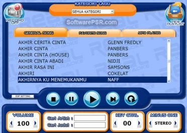 memberikan software karaoke full versions