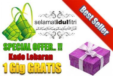 Kasih 1 Gig GRATIS Special Offer Kado Lebaran