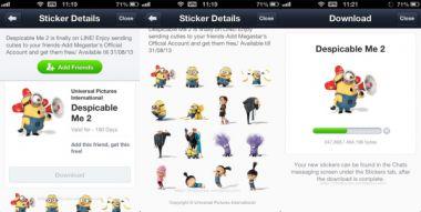 membuatkan ID Line chat + Sticker line free semua negara