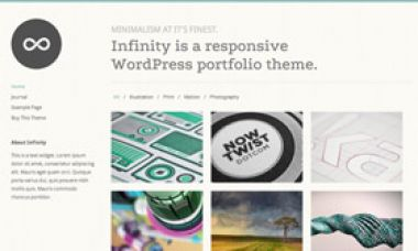 memberikan Infinity dan Reveal premium Wordpress Theme dari ThemeTrust