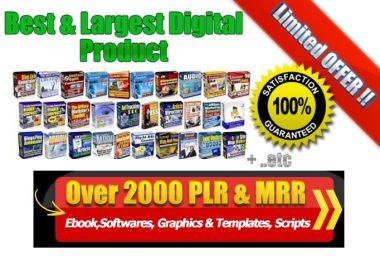 Kasih Lebih 1000+ sd 2000 TOP eBooks,Website Templates,Tools,Marketing Softwares PLR MRR