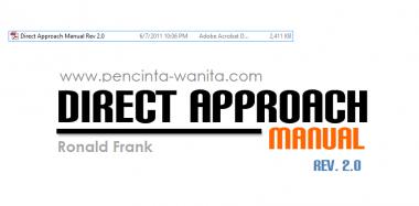 memberikan ebook direct approch manual ronald frank