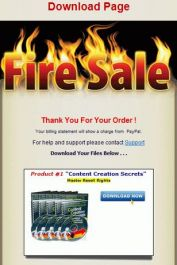 memberikan anda full produk dari firesale