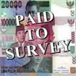 berikan link website pendaftaran ke survey online yang terbukti membayar member pakai check