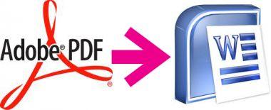 merubah dokumen hasil scan/file pdf menjadi file doc yang editable