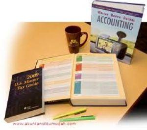 membantu menyelesaikan laporan keuangan akuntansi