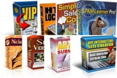 memberikan 8 Software untuk kebutuhan internet marketing dengan PLR