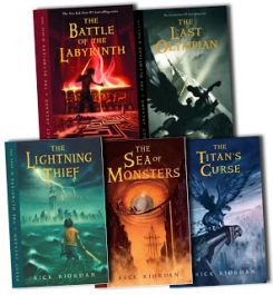 "mengirimkan link download e-book inggris ""Percy Jackson and the Olympian series"" 1-5"