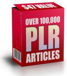 Memberikanmu 100 ribu PLR artikel untuk web/blog kamu