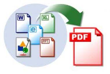 menconvert file office anda ke pdf atau pun sebaliknya maks.lembar