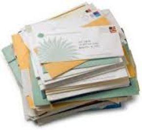 mengantar 20 surat di daerah kota malang