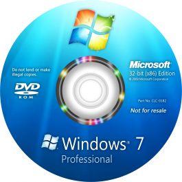 Mengirimkan DVD Windows 7 dan Office 2010 lengkap dengan Serial numbernya