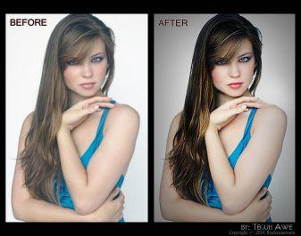 membuat foto kamu lebih mulus dan bersih