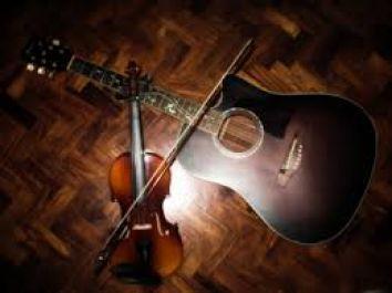 mengajarkan biola dan gitar
